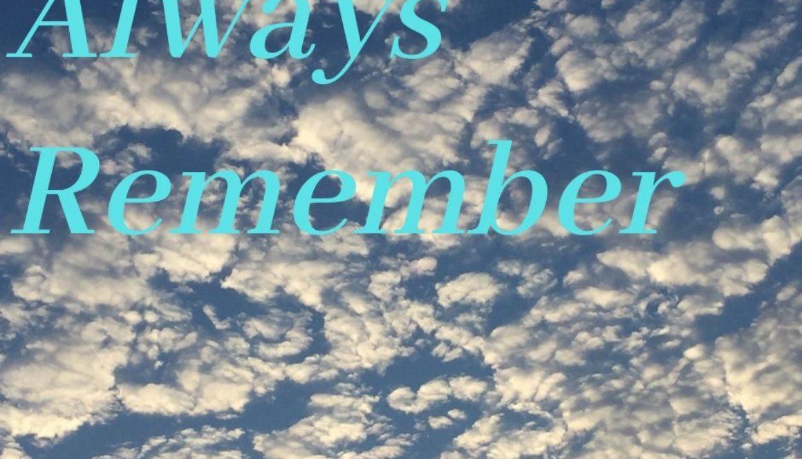 Always Remember (1)
